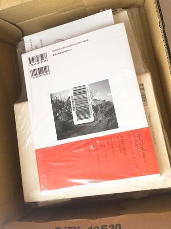 日本のアマゾンから届いた本