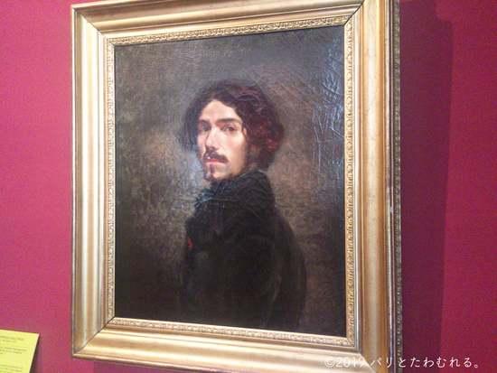 ドラクロワ肖像画
