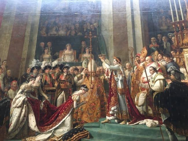 ルーブル美術館ナポレオン戴冠式