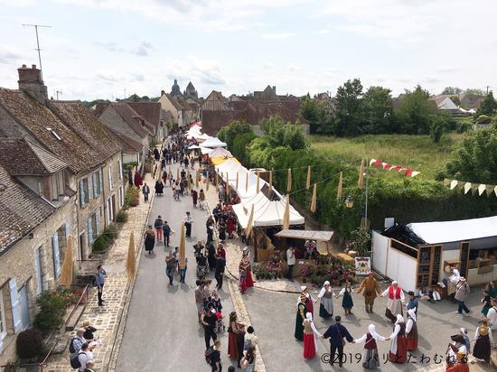プロヴァン中世祭りの様子