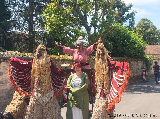 プロヴァン中世祭りのショー