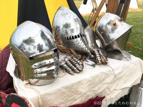 プロヴァン中世祭りで売ってる鎧
