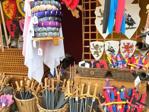 プロヴァン中世祭りで買える盾