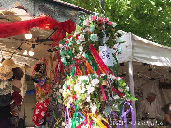 プロヴァン中世祭りで売ってる髪飾り