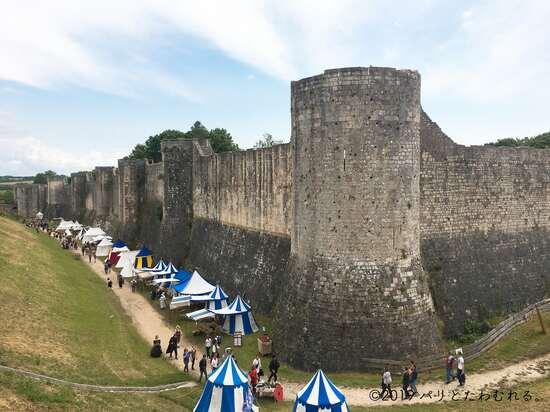 プロヴァンの城壁