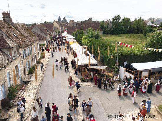ジュイ門から見たプロヴァン中世祭り