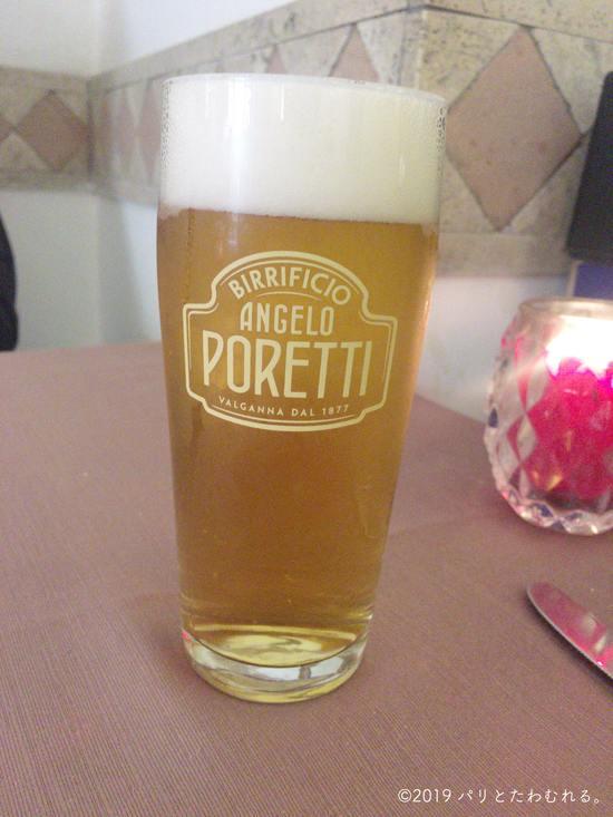 イタリアの地ビール『ANGELO PORETTI』