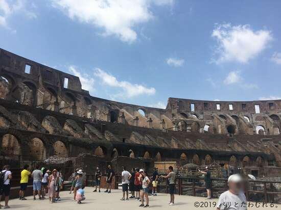 コロッセオのアリーナ