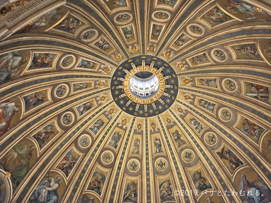 サン・ピエトロ大聖堂の天井画