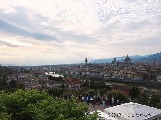 ミケランジェロの丘からのフィレンツェ