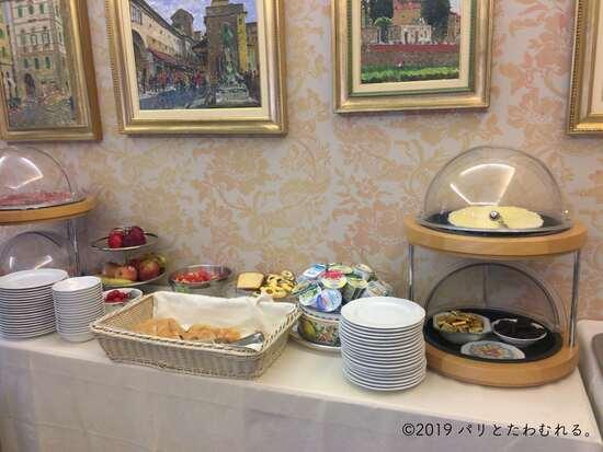 ホテル エルミタージュの朝食