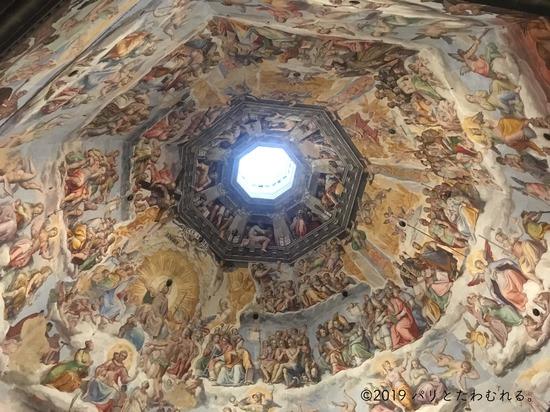 サンタ・マリア・デル・フィオーレ大聖堂の天井画
