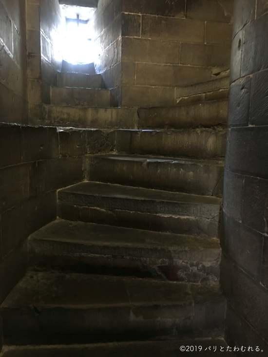 ジョットの鐘楼の階段