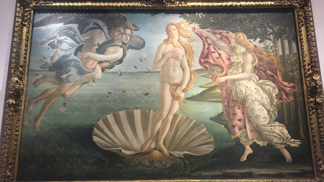 フィレンツェ観光 ウフィツィ美術館とドウォモ
