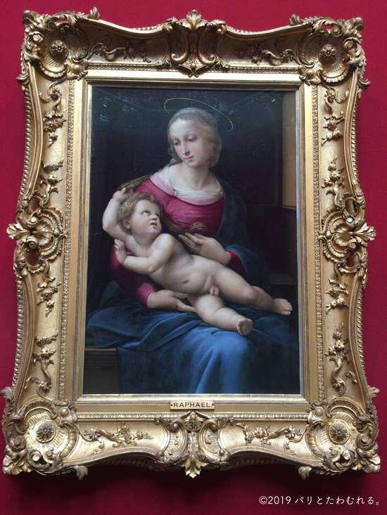 ラファエロ・サンティ「聖母子像」