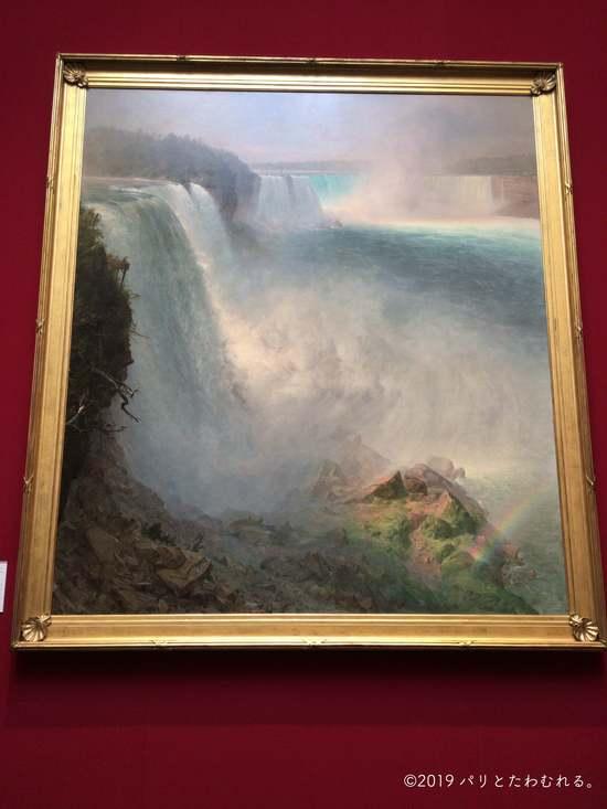 フレデリック・エドウィン・チャーチ「アメリカから見たナイアガラの滝」