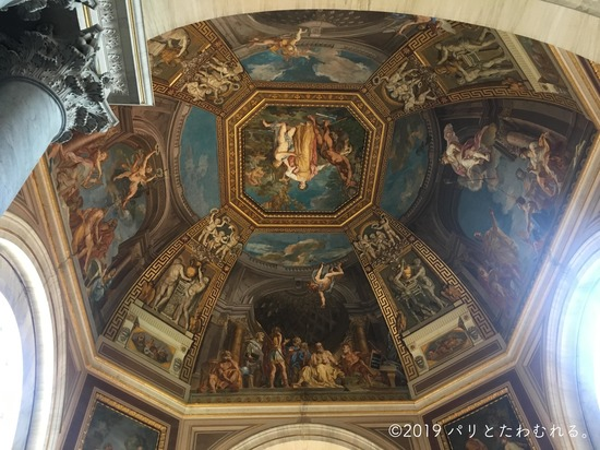 バチカン美術館の天井画