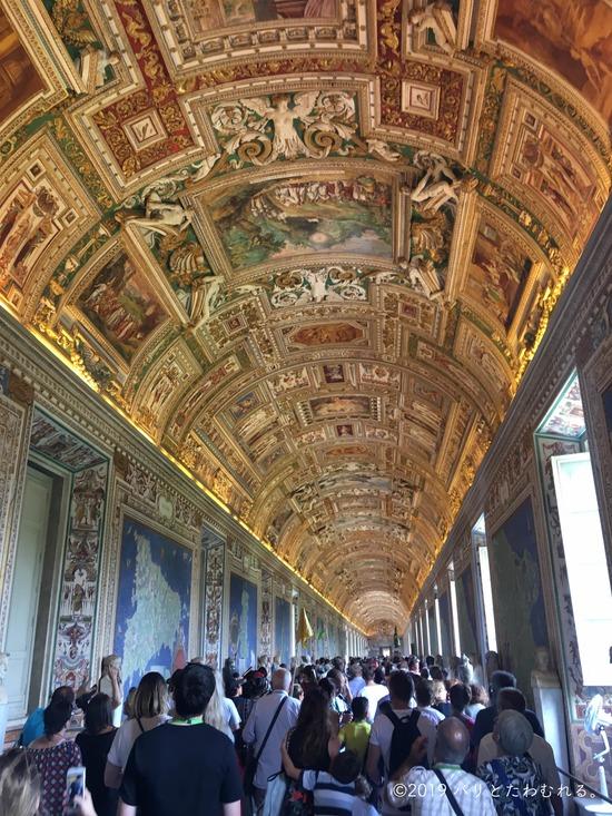 バチカン美術館地図の間の天井画
