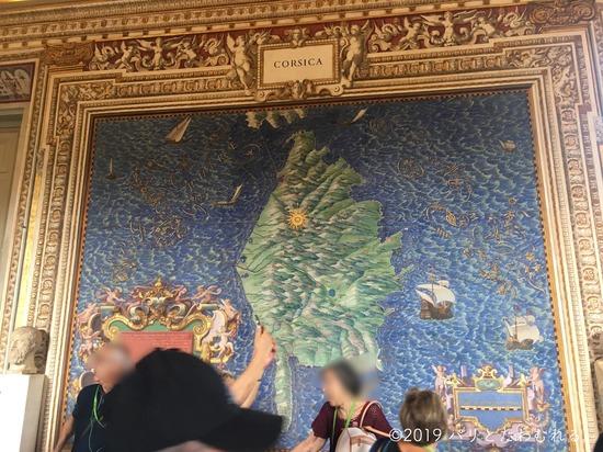 バチカン美術館地図の間
