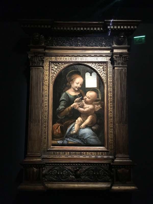 レオナルド・ダ・ヴィンチ展「ブノワの聖母」