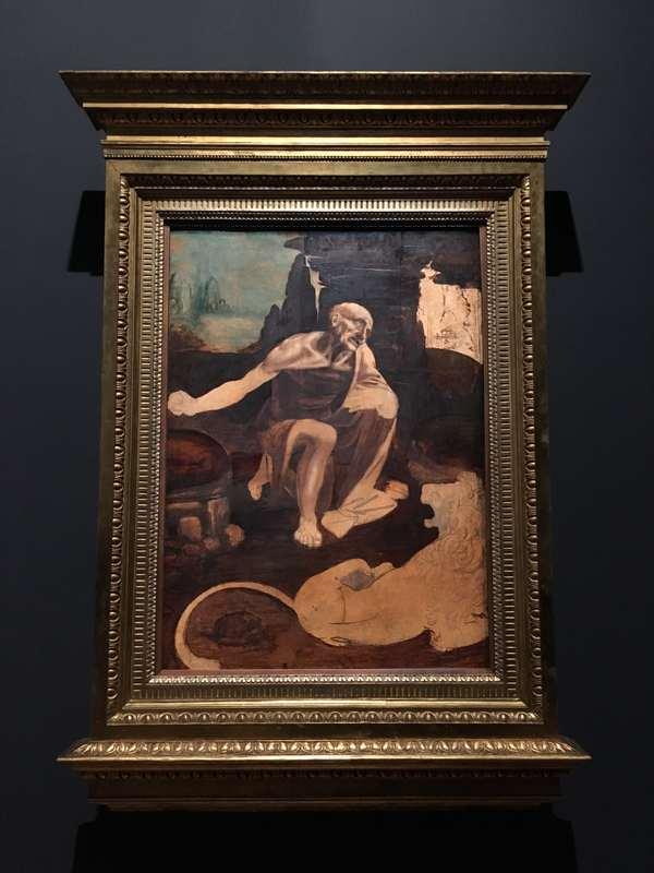 レオナルド・ダ・ヴィンチ展「聖ヒエロニムス」