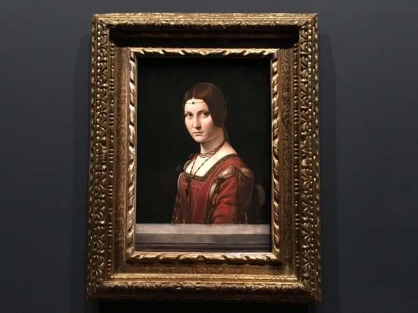 レオナルド・ダ・ヴィンチ展「ミラノ貴婦人の肖像」