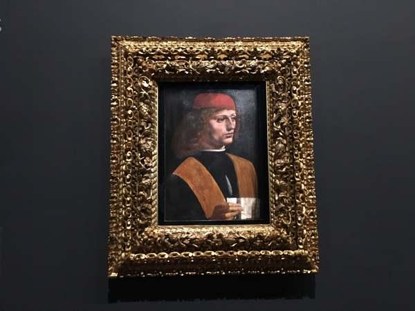 レオナルド・ダ・ヴィンチ展「音楽家の肖像」