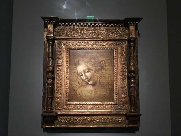 レオナルド・ダ・ヴィンチ展「ほつれ髪の女」